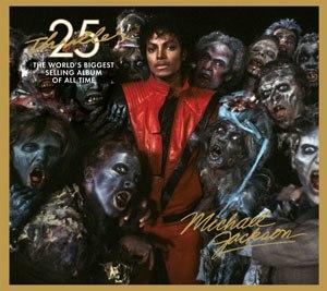 Thriller 25 album cover