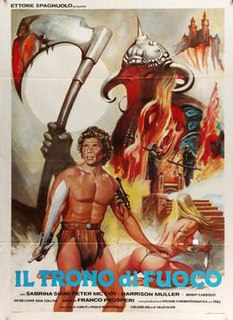 <i>The Throne of Fire</i> (film) 1983 film by Franco Prosperi