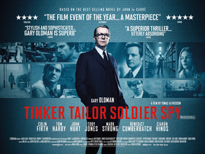Tinker Tailor Soldier Spy (film) - British theatrical release poster