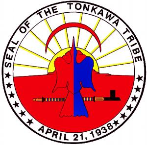 Tonkawa - Image: Tonkawa Oklahoma seal