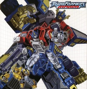 Transformers: Armada - Image: Transformers Armada DVD cover art