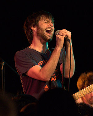 Travis Morrison - Travis Morrison performing with The Dismemberment Plan at The Black Cat in Washington, D.C. on January 21, 2011