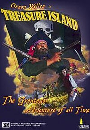 Treasure Island (1972 live-action film) - Australian DVD Cover