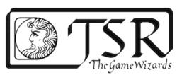 Tsr logo game wizards