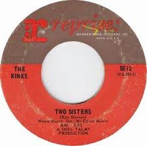 Two Sisters (The Kinks song) - Image: Two Sisters Kinks Single