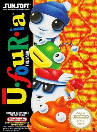Ufouria: The Saga - European boxart