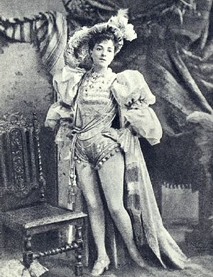 Vesta Tilley - Vesta Tilley as a principal boy