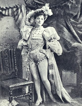 Principal boy - Vesta Tilley as a principal boy
