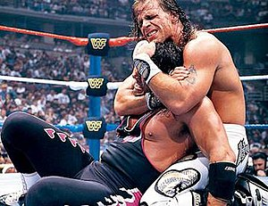 WrestleMania XII - Shawn Michaels vs. Bret Hart for the WWF World Heavyweight Championship