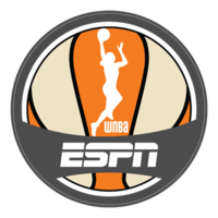 WNBA on ESPN logo