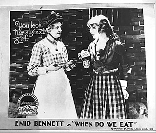 <i>When Do We Eat?</i> (1918 film) 1918 film by Fred Niblo