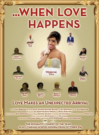 ...When Love Happens - Theatrical release poster