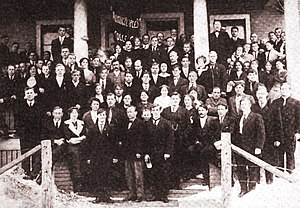 Work People's College - Work People's College Class of 1913.