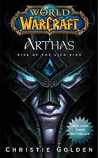 <i>World of Warcraft: Arthas: Rise of the Lich King</i> book