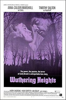 <i>Wuthering Heights</i> (1970 film) 1970 film by Robert Fuest