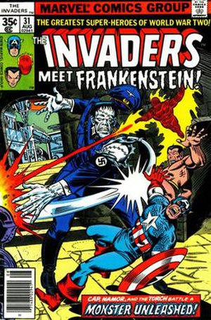 Frankenstein's Monster (Marvel Comics) - Image: Ww 2frank