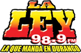 XHDU-FM - Image: XHDU La Ley 98.9 logo