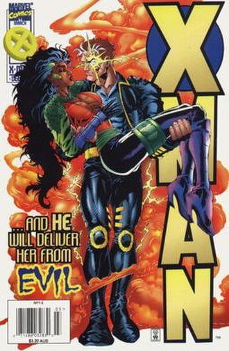 Threnody (comics) - Image: Xman 13