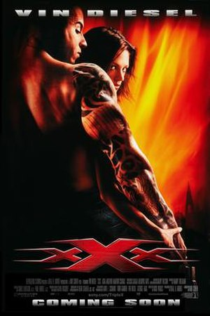 XXX (2002 film) - Theatrical release poster