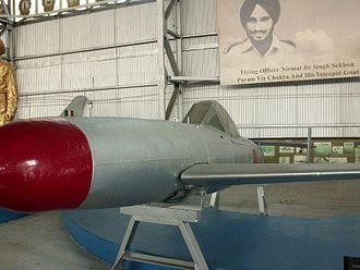 Indian Air Force Museum, Palam - Imperial Japanese Yokosuka MXY7 Ohka on display