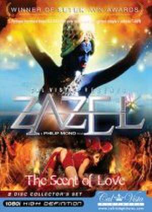 "Zazel - Zazel - Blu-ray cover (2008) features Sasha Vinni as the ""Blue Siren"" and Anna Romero as the ""She-Devil""."