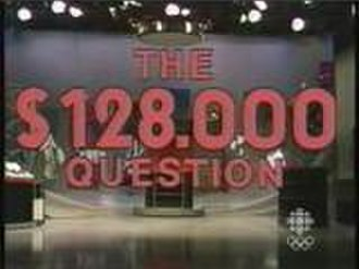 The $128,000 Question - Image: 128kquestion