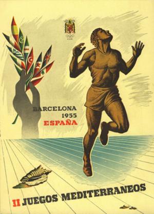 1955 Mediterranean Games - Image: 1955 MG (logo)