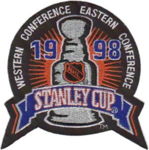 1998 Stanley Cup Finals - Image: 1998 Stanley Cup patch