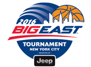 2016 Big East Men's Basketball Tournament - Image: 2016 Big East Tournament Logo
