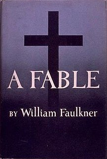 <i>A Fable</i> novel by William Faulkner