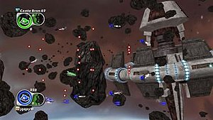 Aegis Wing - Typical gameplay screenshot of Aegis Wing.