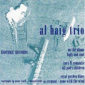 Al Haig Trio (Esoteric) - Image: Al Haig Trio