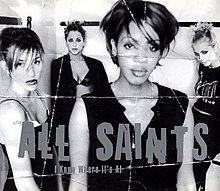 All Saints — I Know Where It's At (studio acapella)