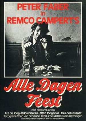 Alle dagen feest - Theatrical poster