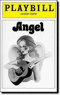<i>Angel</i> (musical) 1970s Broadway musical