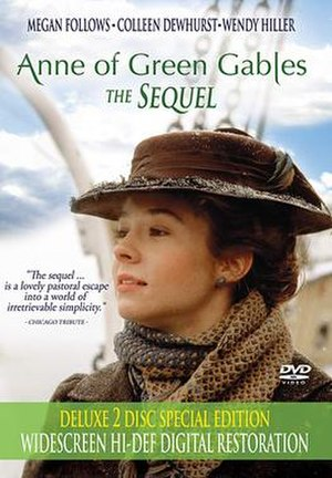 Anne of Green Gables: The Sequel - DVD cover