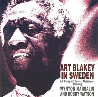 Art Blakey in Sweden - Image: Art Blakey in Sweden