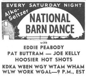 National Barn Dance - Ad