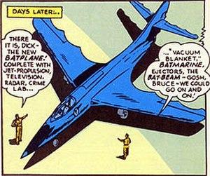 Batplane - The origin of Batplane II