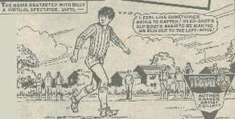 Billy's Boots -  Billy Dane feels the power of his magic boots
