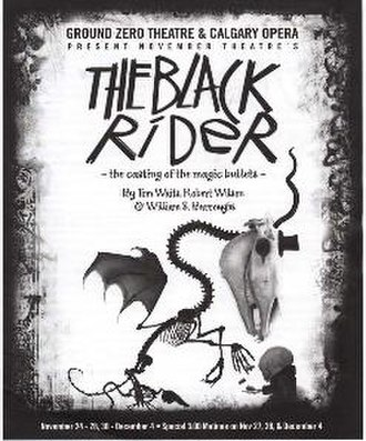 The Black Rider - Canadian Tour Program