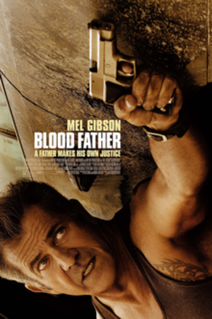 Blood Father - Theatrical release poster