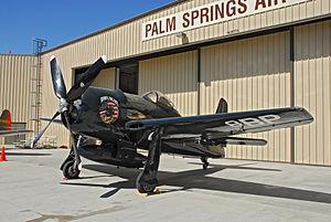 Palm Springs Air Museum - Grumman F8F Bearcat at Palm Springs Museum