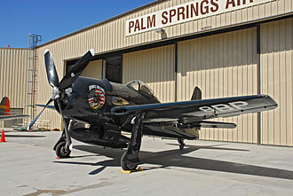 Palm Springs Air Museum - Grumman F8F Bearcat at Palm Springs Museum