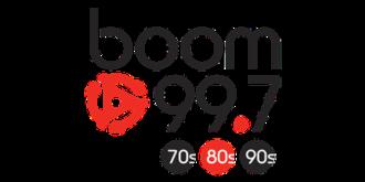 CJOT-FM - Image: Boom 99 7 logo