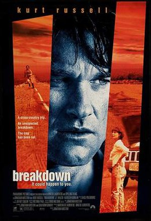 Breakdown (1997 film) - Promotional poster