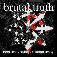 The cover for the album Evolution Through Revolution by Brutal Truth.