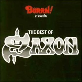 Burrn! Presents: The Best of Saxon - Image: Burrnsaxon 2
