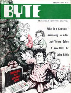 <i>Byte</i> (magazine) Defunct American computing magazine