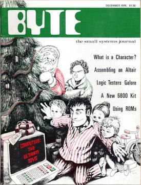 Byte Front Cover December 1975